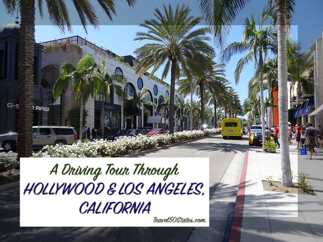 A Driving Tour of Hollywood & LA