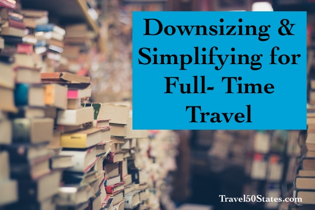 Downsizing & Simplifying for Mobility