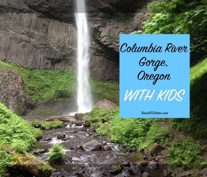 Columbia River Gorge, Oregon with Kids