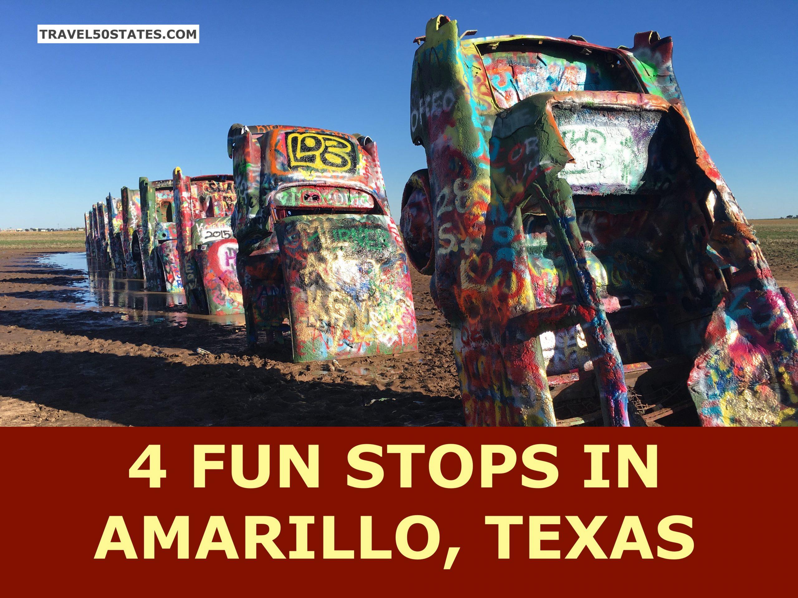 4 Fun Stops in Amarillo, TX