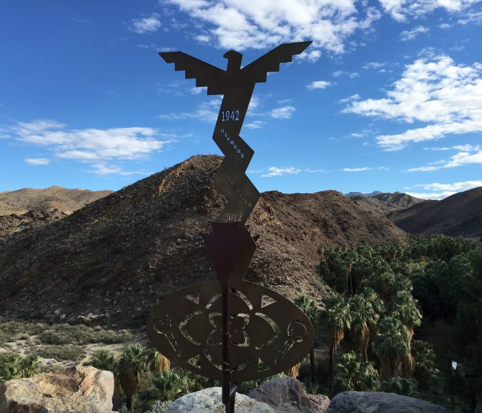 Indian Canyons in Palm Springs, California