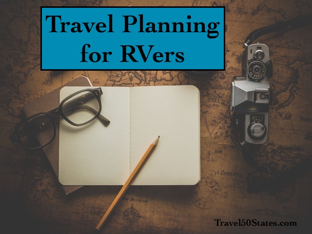 Travel Planning for Full-Time RVers