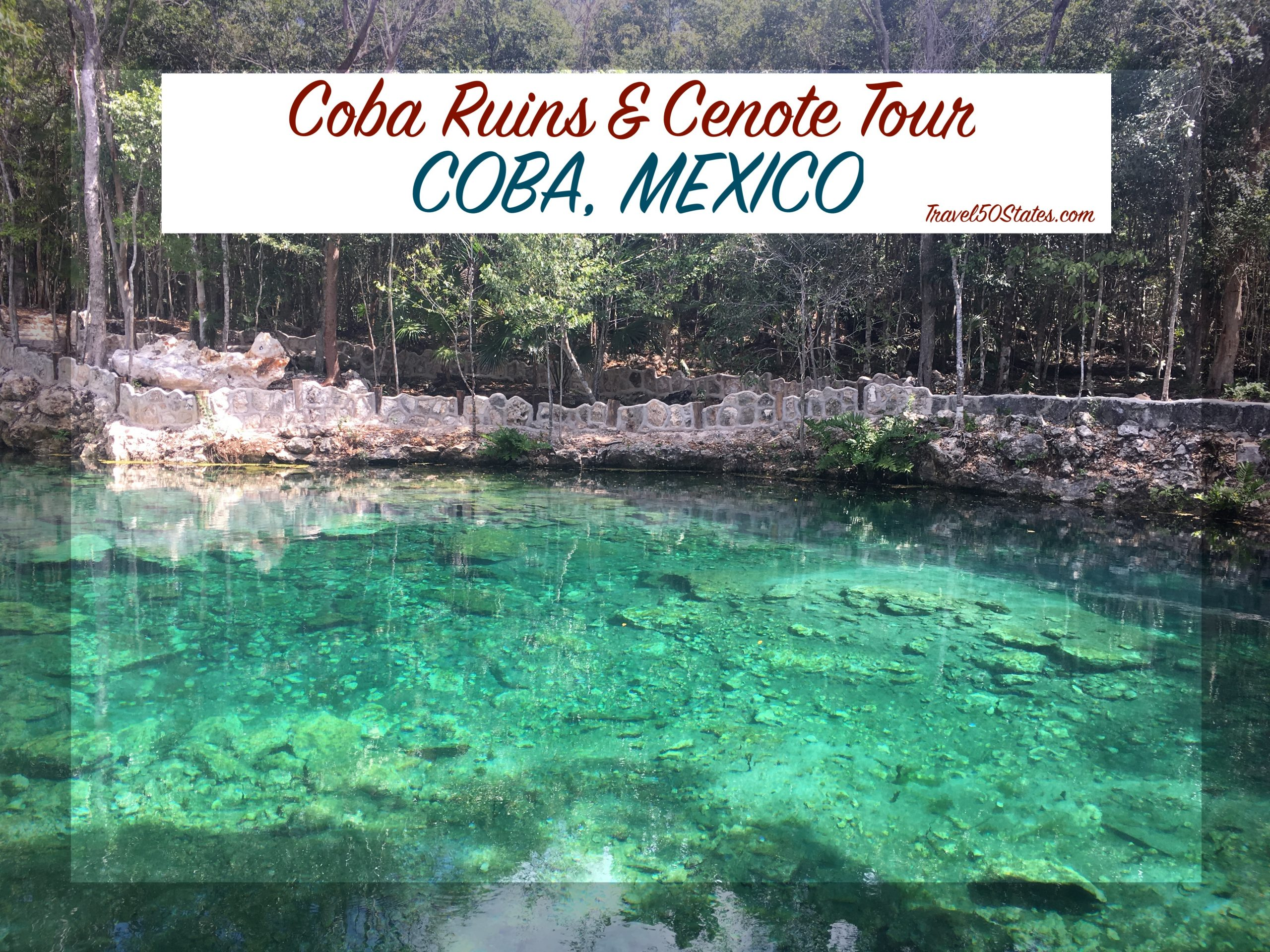 Coba Ruins and Cenote Tour, Mexico