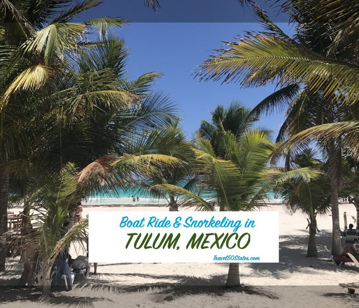 Tulum Boat Ride and Snorkeling