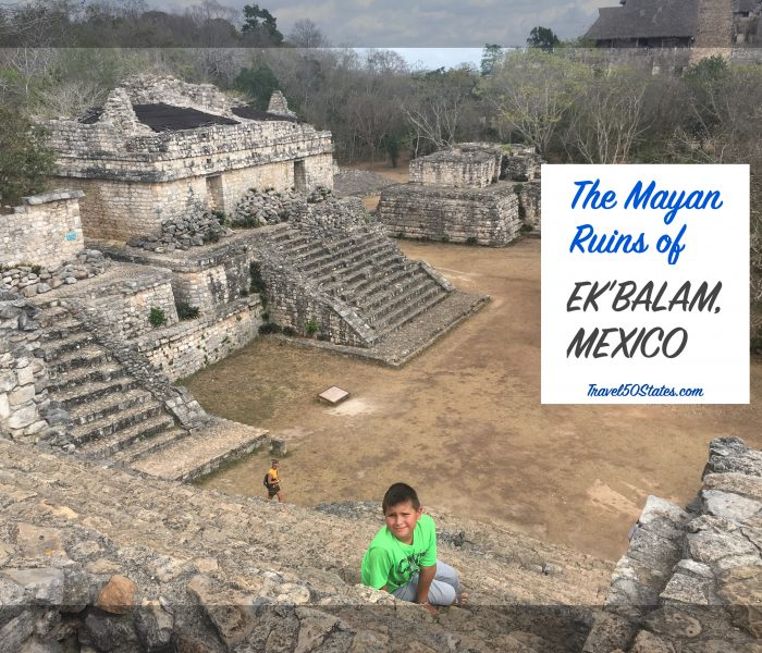 The Mayan Ruins of Ek'Balam, Mexico
