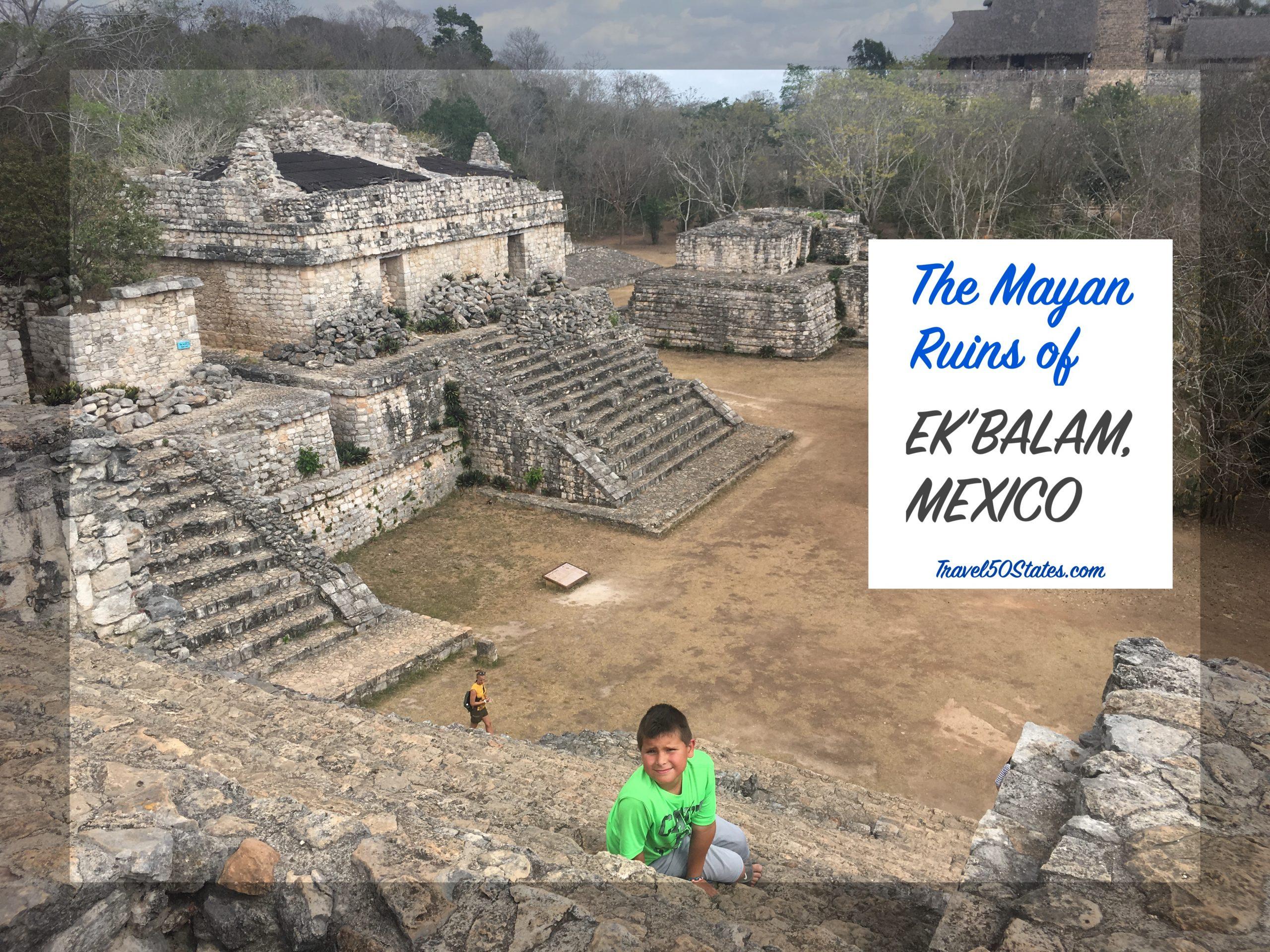 The Mayan Ruins of Ek'Balam, Mexico