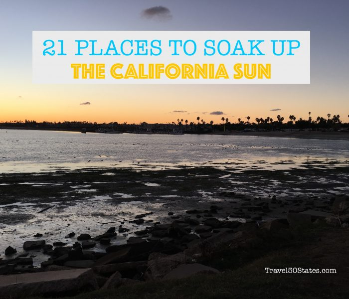 21 Places to Soak Up the San Diego Sun