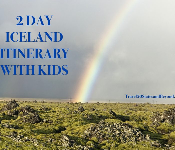 Iceland: 2 Day Travel Itinerary With Kids