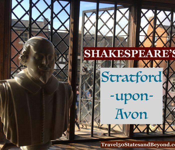 Shakespeare's Stratford-Upon-Avon, England