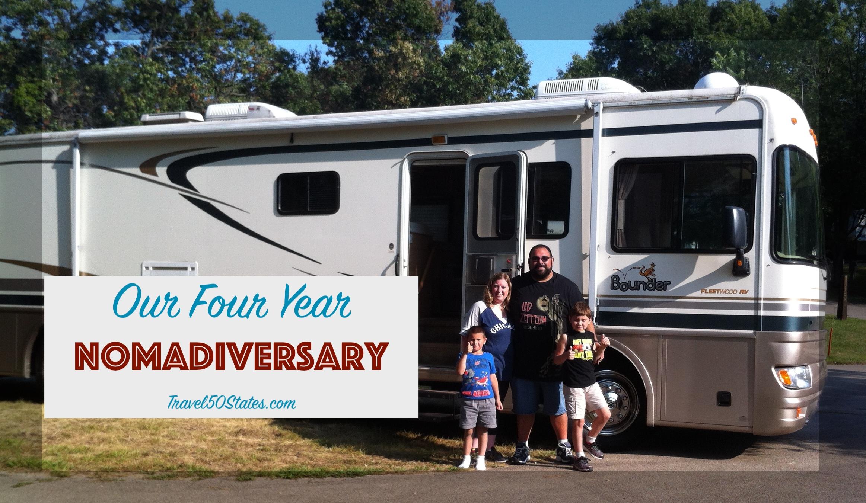 Four Year Nomadiversary