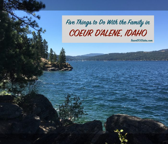The Resort Town of Coeur D'Alene, Idaho