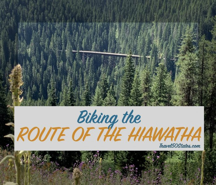Biking the Route of the Hiawatha
