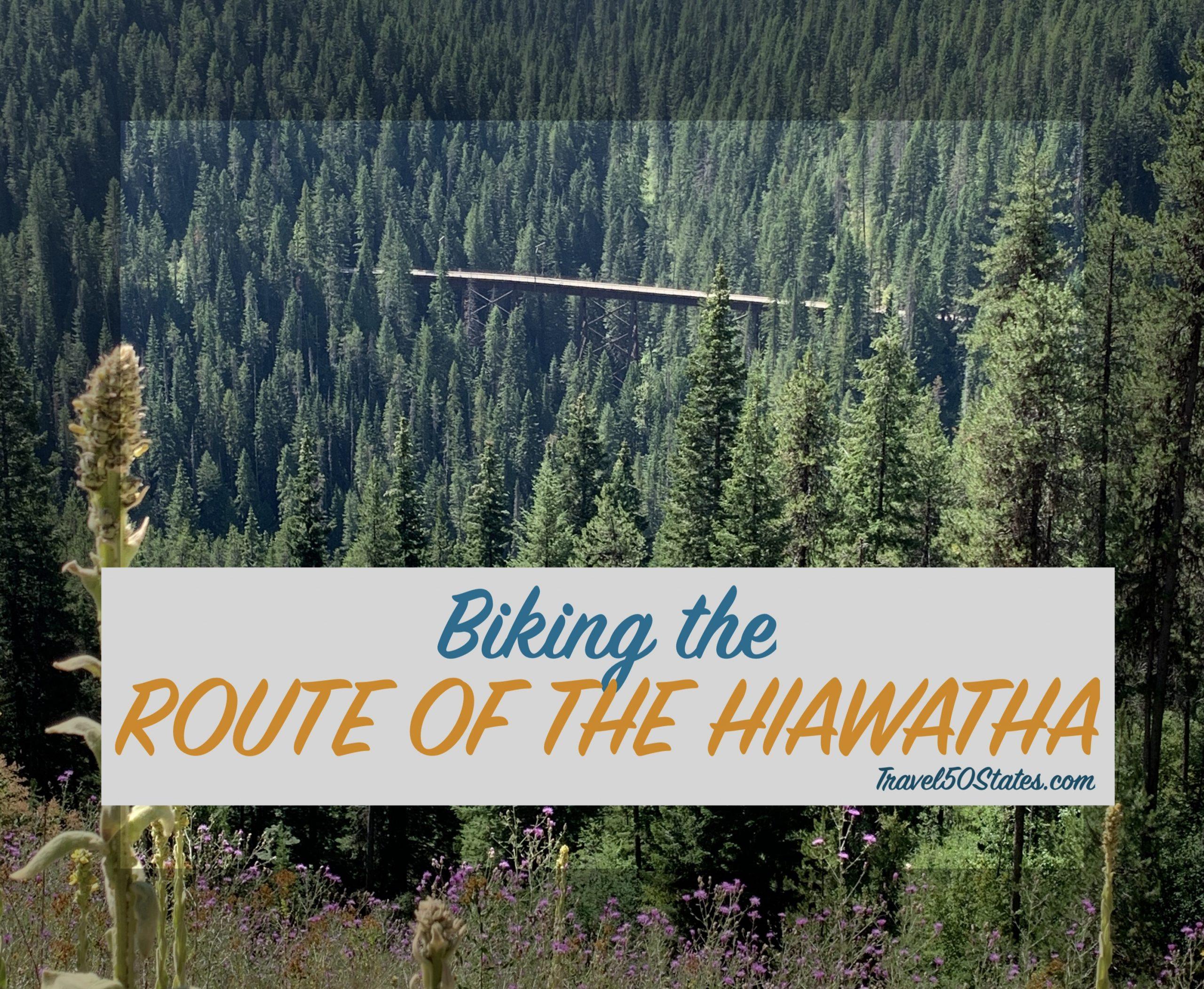 Biking the Route of the Hiawatha