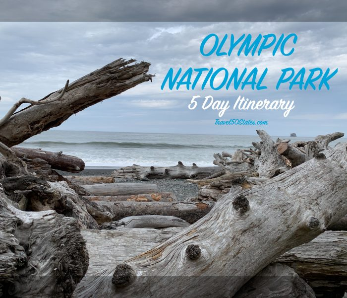 Olympic National Park 5 Day Itinerary