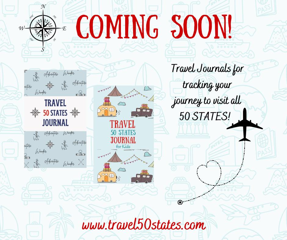 Travel 50 States Journals