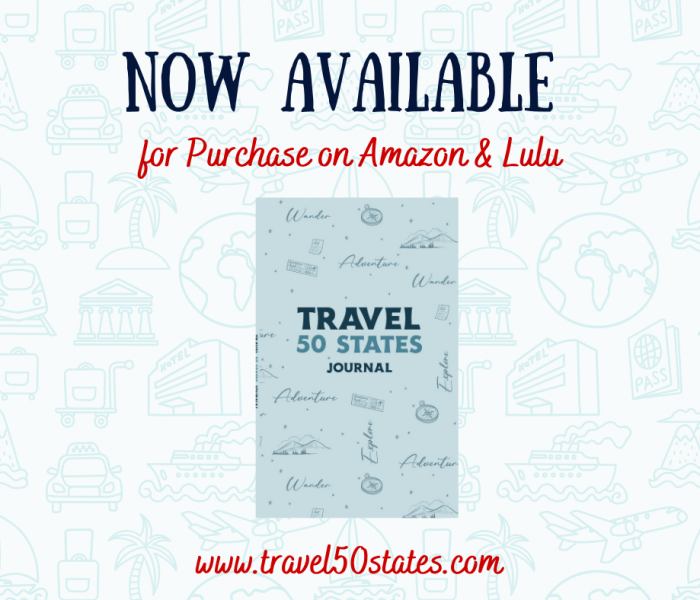 Travel 50 States Journal Release