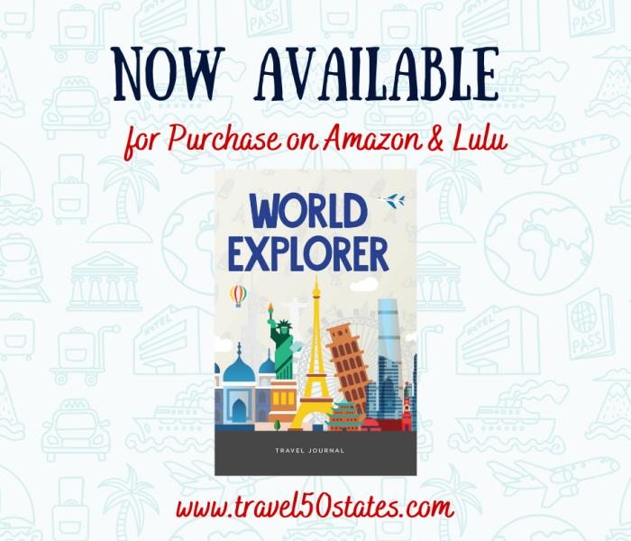 World Explorer Travel Journal RELEASE